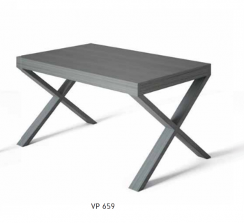 MESA COMEDOR NEW VIENA 140/200X90X75 CM VOTEABLE P-CRUCETA VP-659